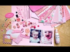Scrap Your Stash: Hello Jane - Pink (Two Peas in a Bucket)