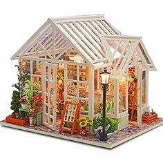 """Miniature """"Flower Shop"""" in 1/12 scale"""