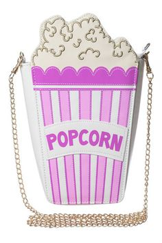 Popcorn Cross Body Bag - Preorder available for April 14th!