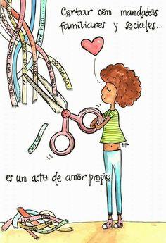 Self-love * - Motivational Phrases, Inspirational Quotes, Best Quotes, Love Quotes, Famous Quotes, Quotes En Espanol, Mr Wonderful, Spanish Quotes, Self Love