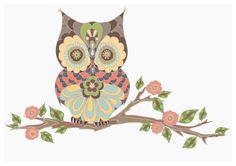 OWL Stretched Canvas