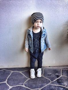 95cd753b99f Beau Hudson-- Industrial Bandit Beanie™- Limited Edition Toddler Boy  Fashion