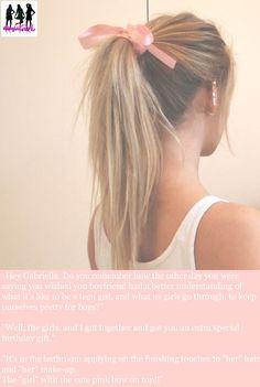 Pretty Ponytail Hairstyles for Young Women - Frisuren - Trend Frisuren - Haar Modell Ombré Hair, Hair Day, Blonde Hair, Girl Hair, Braid Hair, Wavy Hair, Braid Bangs, Rock Hair, Brown Blonde