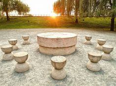 Masa tăcerii by Sorin Onişor Stepping Stones, Sunset, Amazing, Outdoor Decor, Table, Stair Risers, Tables, Sunsets, Desk