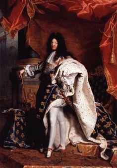 Lodewijk XIV. hij had absolute macht. hij liet dit zien door een heel groot kasteel te laten bouwen.