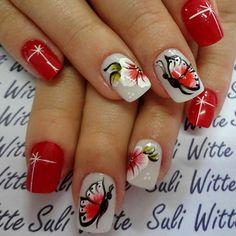 Nail Vermelha by Suli Witte.