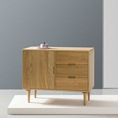 Maximus Sideboard - Solid Oak - - Straight Legs - Icon By Design Glass Cabinet Doors, Glass Door, Hallway Furniture, Sideboard Cabinet, Oak Doors, Scandi Style, Types Of Wood, Solid Oak, Storage Spaces