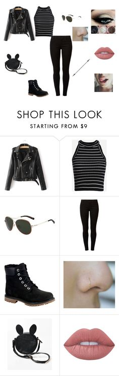 """""""Untitled #95"""" by shorttii on Polyvore featuring Valentino, Dorothy Perkins, Timberland and Lime Crime"""