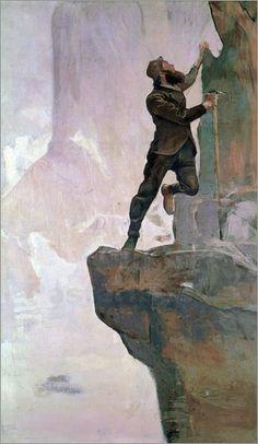 Ferdinand Hodler - Aufstieg III