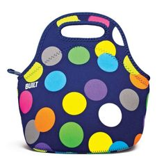 My new lunch bag!   BUILT Neoprene Gourmet Getaway Lunch Tote, Scatter Dot