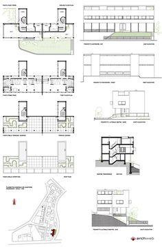 K Ivanov F Terechin Et P Smolin Coupe Et Plan Du Projet De - Plan de maison 2 pieces