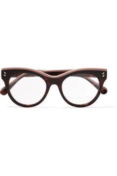 e087811d2d STELLA MCCARTNEY Cat-eye acetate optical glasses.  stellamccartney   opticals Cat Eye Makeup