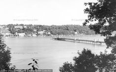Photo of Bangor, The Pier c.1965, from Francis Frith
