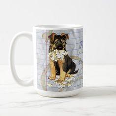 #My GSD Ate My Lesson Plan Coffee Mug - #german #shepherd #puppy #shepherds #dog #dogs #pet #pets