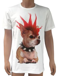 The PUNK DOG T-shirt by Ray Guy.