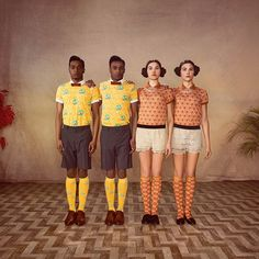 Mosaert is a limited fashion line by Belgian singer Stromae, who's African roots have influenced the superb vintage-inspired art direction of the collection Fashion Line, Fashion Art, New Fashion, Editorial Fashion, Fashion Brands, Vanity Fair, Dandy, Art Conceptual, Mode Pop