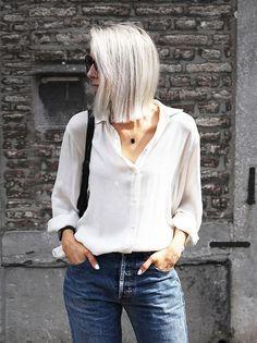 women who rock the grey hair