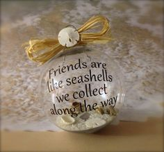 Without the wording, this makes for a beautiful little ornament for the home