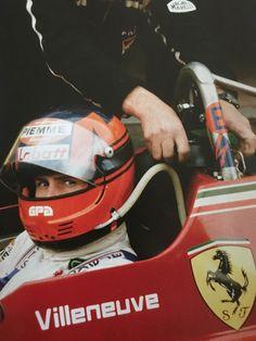 Gilles Villeneuve Scuderia Ferrari