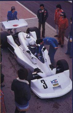 1977 Kojima KE009 - Ford (Keijo Rosberg test)