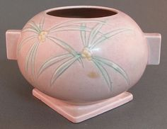 Roseville Pink DAWN Vase. #antique #vintage #appraisal