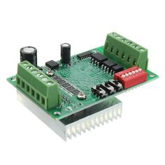 TB6560 DC 10-35V Router 3A Single Axis Controller Stepper Motor Driver Board With Heat Sink