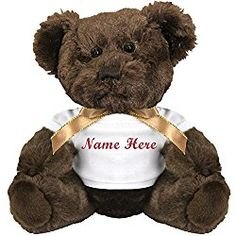 Personalized Bear Gift: Small Plush Teddy Bear