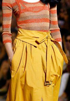 Sonia Rykiel...that skirt!: