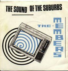 The Sound Of The Suburbs (Vinyl, 45 RPM, Single) album cover Peel Sessions, New Wave Music, Vinyl Junkies, Band Camp, Britpop, How To Apologize, Vinyl Cover, Post Punk, Chicago Cubs Logo