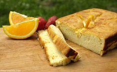 Coconut-Orange Pound Cake #glutenfree #grainfree #paleo