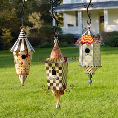 MacKenzie-Childs - luv these bird houses