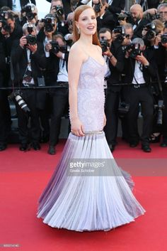 Jury member Jessica Chastain attends the 'Okja' screening during the 70th annual Cannes Film Festival at Palais des Festivals on May 19, 2017 in Cannes, France.