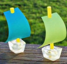 Fun summer ice crafts for kids Ice Crafts, Boat Crafts, Summer Crafts, Summer Activities, Craft Activities, Preschool Crafts, Summer Games, Projects For Kids, Crafts For Kids