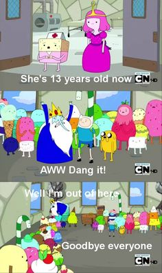 We show you the dirtiest moments from Adventure Time in this funny Smosh gallery! Adventure Time Quotes, Adventure Time Comics, Geeks, Abenteuerzeit Mit Finn Und Jake, Adveture Time, Land Of Ooo, Finn The Human, Fraggle Rock, Jake The Dogs