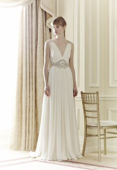 Loving the gorgeous and elegant Daphne gown from Jenny Packham's 2014 Bridal Collection.