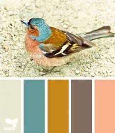 Paleta de cores - casamento no outono Colour Pallette, Color Palate, Colour Schemes, Color Patterns, Color Combinations, Paint Color Combos, Colour Combo, Paint Colors, Design Seeds