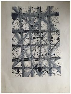 Sam Francis (American, 1923-1994), Untitled (SFM 79-173), 1979, monotype on paper, stamped