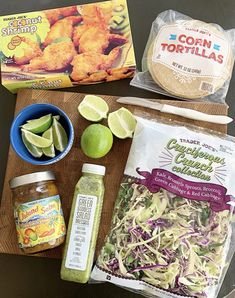 Trader Joe's Coconut Shrimp Tacos - Crisp Collective simple and easy weeknight meal Healthy Recipes, New Recipes, Cooking Recipes, Favorite Recipes, Aldi Recipes, Disney Recipes, Disney Food, Snack Recipes, Gourmet