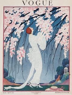 Vintage Vogue Cover, 1919