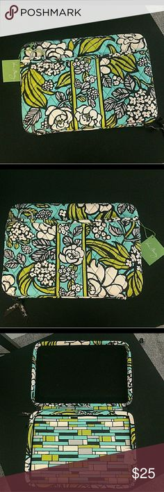 Vera bradley laptop case Its a hard case. Still has the tag on it. I bought it thinking it would fit my laptop but its too small. Vera Bradley Accessories Laptop Cases