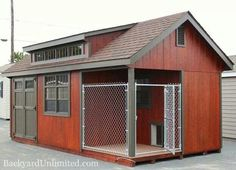 Awesome kennel/shed