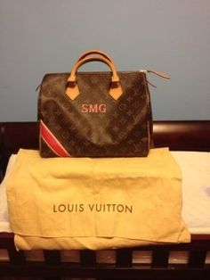 Louis Vuitton Mon Monogram Speedy 30 Bag - Satchel $1,044