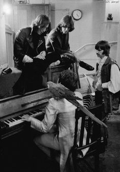 The Beatles creating joyfully.  Follow RUSHWORLD! We're on the hunt for everything you'll love!