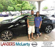 Congratulations Amber on your #Nissan #Maxima from Ksean Belanger at Landers McLarty Nissan !  https://deliverymaxx.com/DealerReviews.aspx?DealerCode=RKUY  #LandersMcLartyNissan