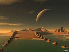 Science Fiction Photo - Landscape