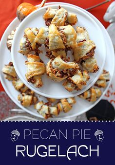Some traditional rugelach recipes already call for pecans. But it's the light corn syrup that sets these apart. They taste exactly like pecan pie — only bite-sized.
