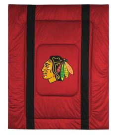 ATHLEZ - Chicago Blackhawks Sidelines Comforter Full/Queen
