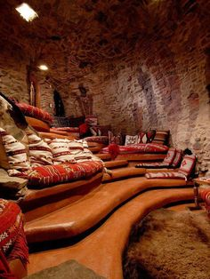 cave room - great for a home theater
