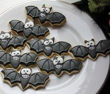 Inspiring picture bats, Halloween, Cookies, cute, food, holiday, sweet. Resolution: 500x333. Find the picture to your taste!
