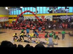 Andrew Hill Fantastics 2009 - Skin the Snake - YouTube would be perfect for my middle school PE group